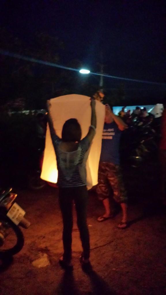 Loy Krathong-lampe