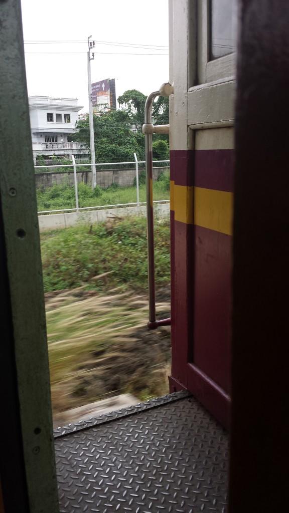 Åben togdør