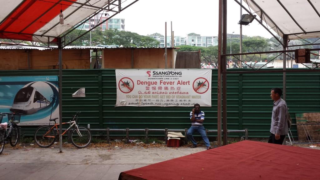 Singapore Little India denguefeberadvarsel