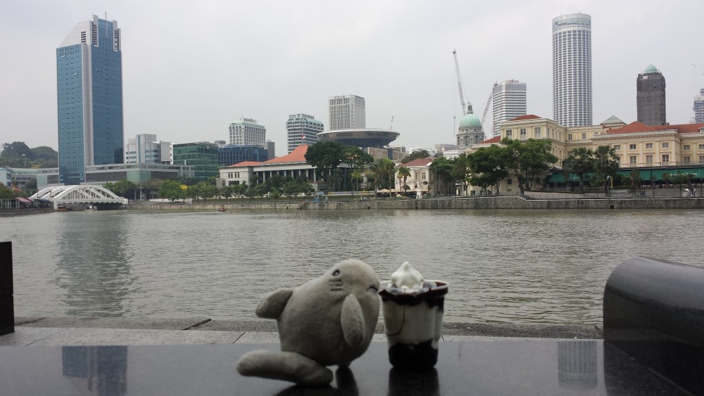 Singapore Raffles Place vand Haj is