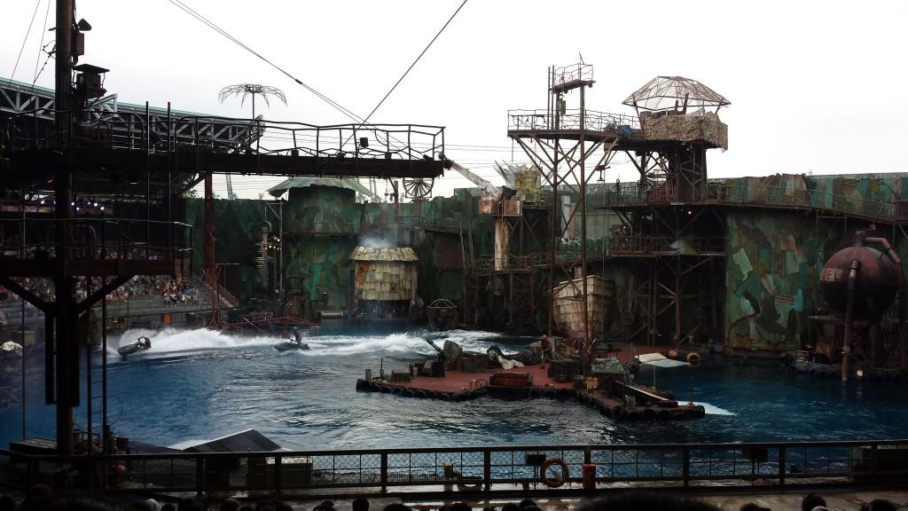 Singapore Universal Studios show vandscootere