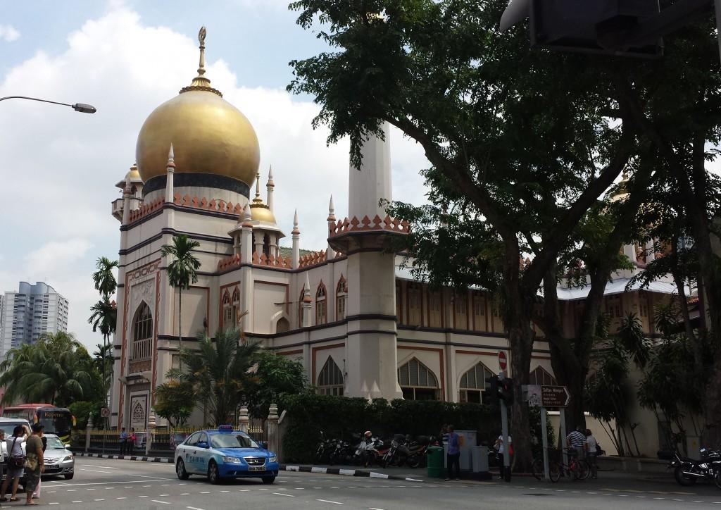 Singapore moske (beskåret)
