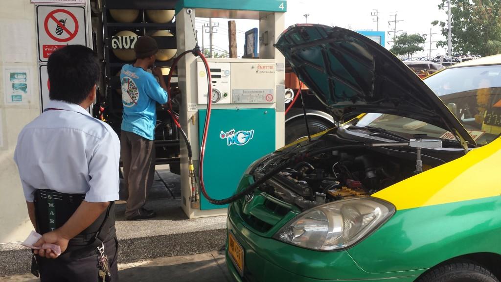 Gas på bil2