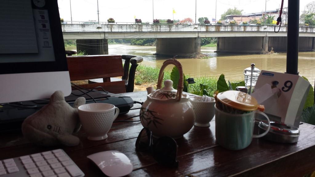 Chiang Mai hotel arbejdsomrade Haj flod