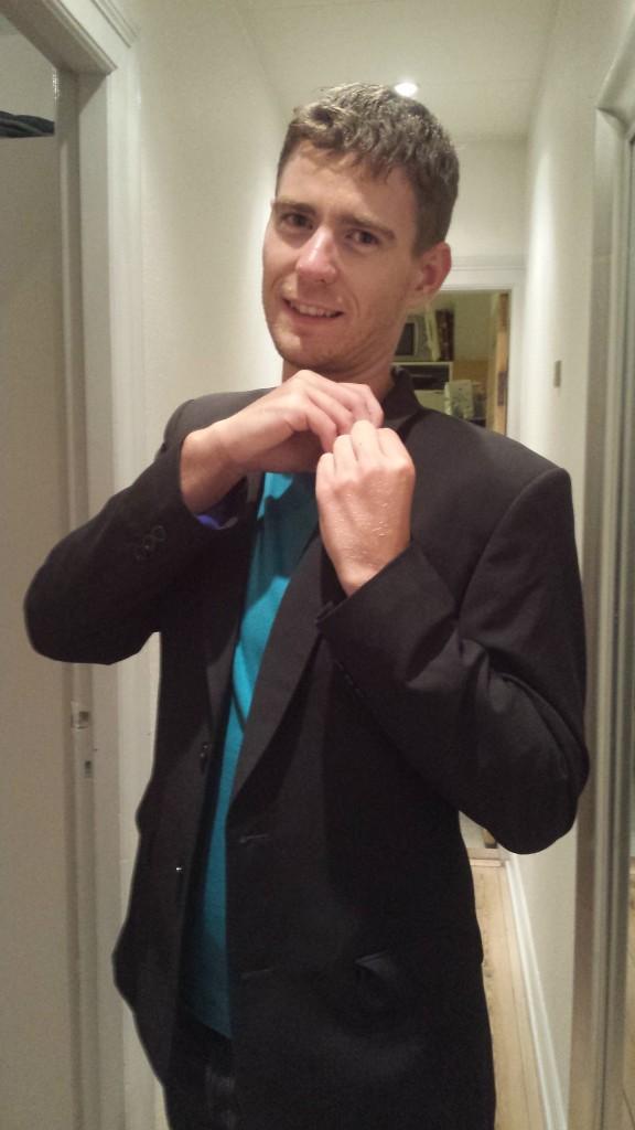 Thomas med jakke