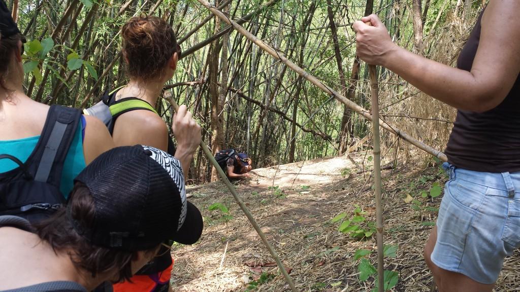 Trekking guide og edderkop2