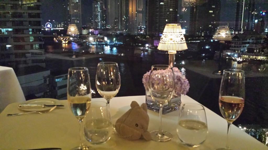 Bangkok restaurant Haj udsigt