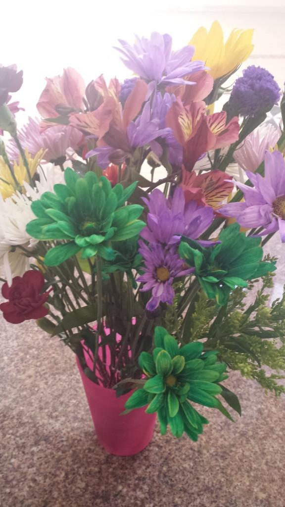 Farvede blomster2