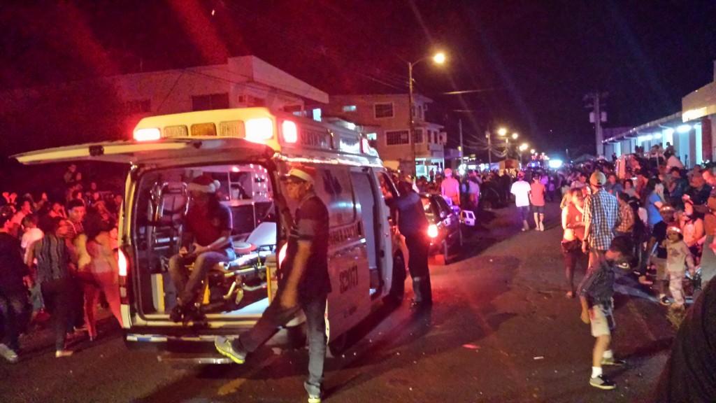Jul i gaden ambulance