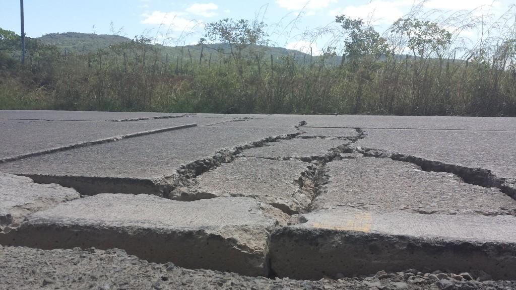 Panamerikanske highway hul i vejen6