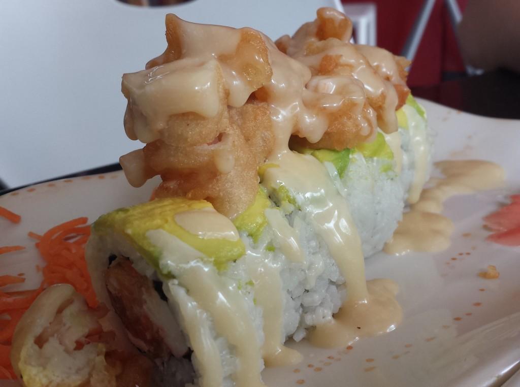 Sushi med sod mayosovs (beskaret)