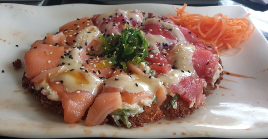 Sushipizza (beskaret)