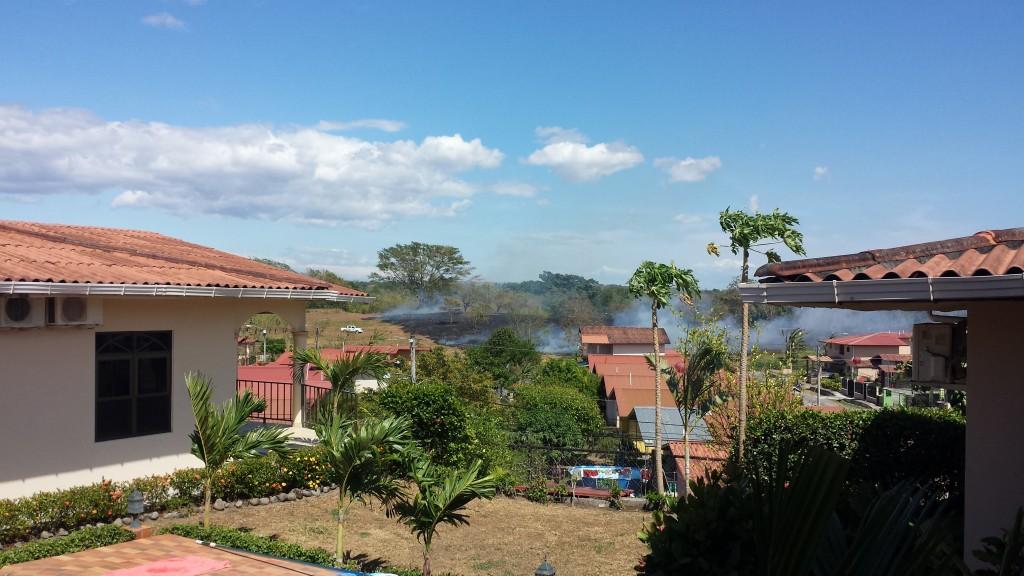 Cuesta del Sol markafbrænding