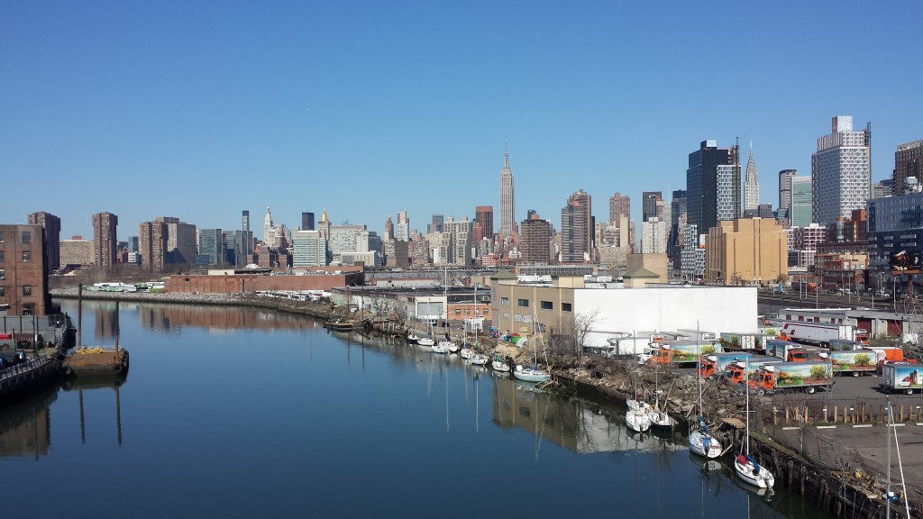 Manhattan set fra Queens