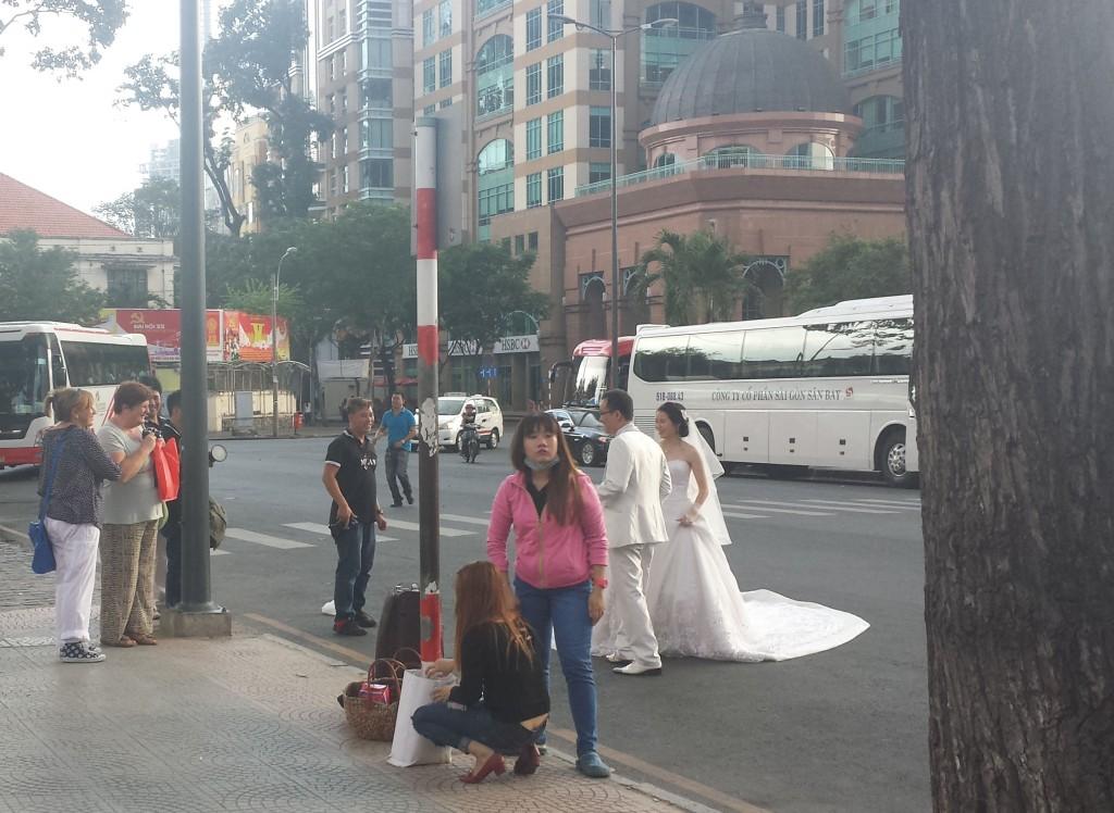 Ho Chi Minh centrum brudepar2 (klippet)
