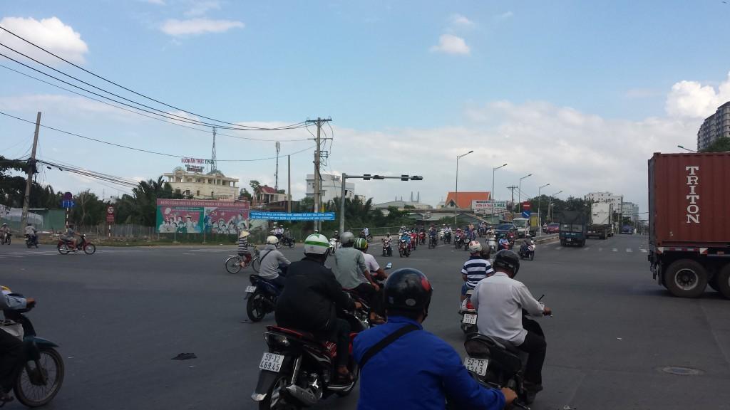 Kaotisk trafik6