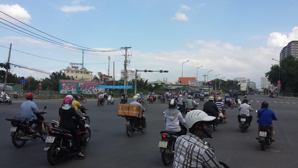 Kaotisk trafik8