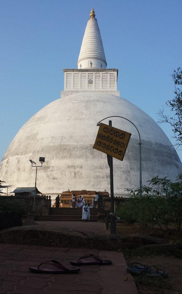Hvid stupa