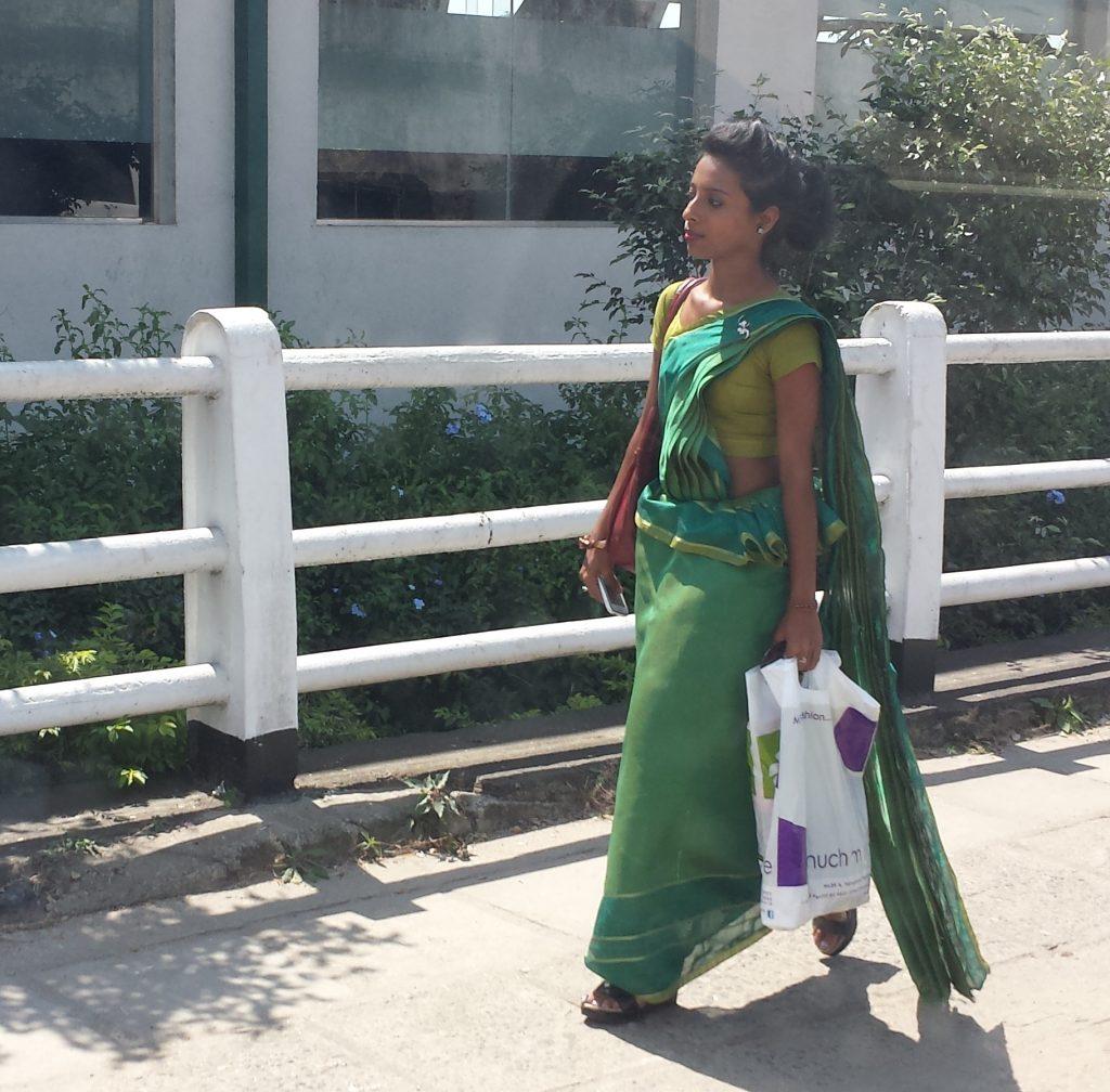 Kvinde i sari